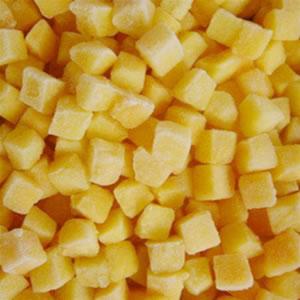 freeze dried yellow Peach Dice