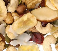 Dried fruits and Nuts in Daily life