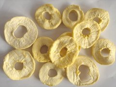 Dried Apple Rings Contract with British Customer