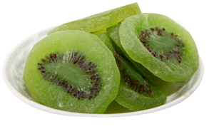 Natural Dried Kiwi Slices
