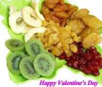 Dried Fruits Discount for Chinese Valentines Day