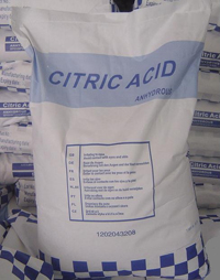 Citric Acid Anhydrous for Sale