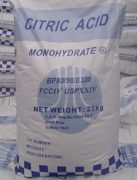 Citric Acid Monohydrate for Sale